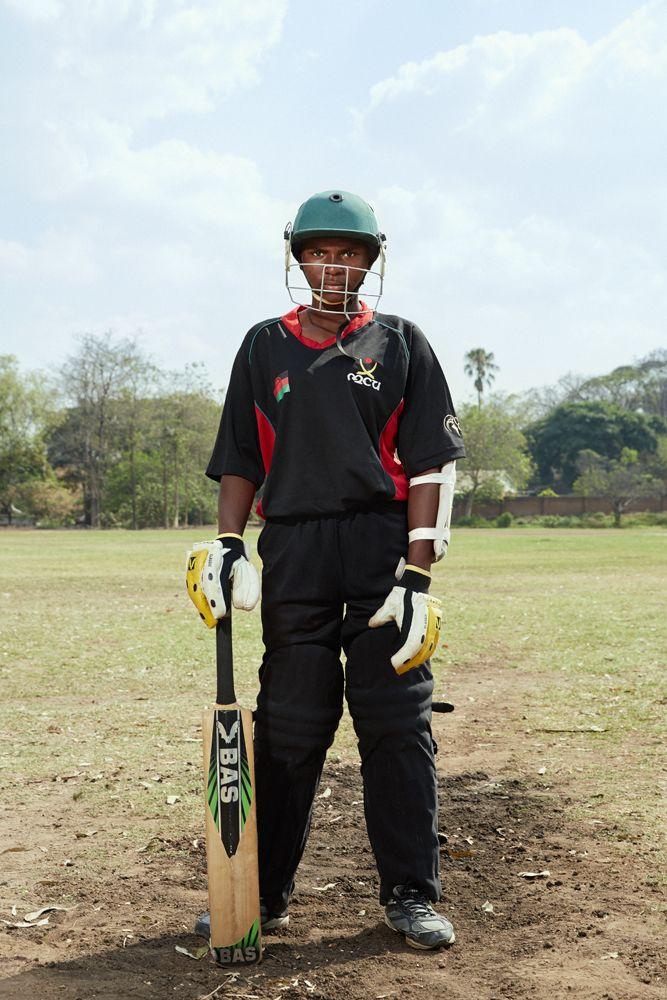 Shalani, allrounder, Malawian U19 Women's Cricket Team, Blantyre, Malawi, 2016.