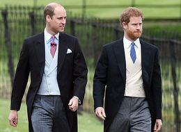 The Duke Of Cambridge And Prince Harry Wear Tails To Pippa Middleton's Wedding