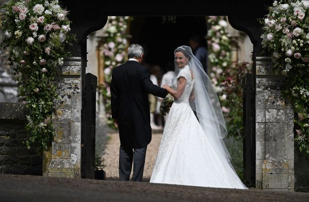 Pippa Middleton Looked Beautiful In Her White Lace Wedding