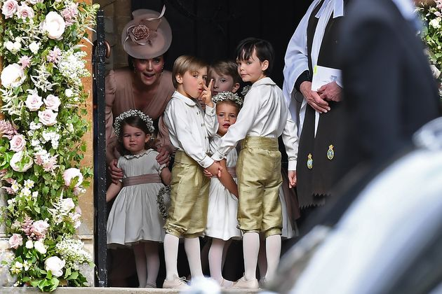 Photos Of Prince George And Princess Charlotte Capture An Adorable Moment Of Sibling