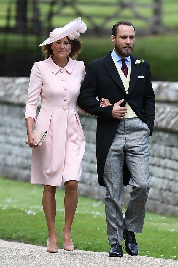 Carole Middleton and James Middleton.