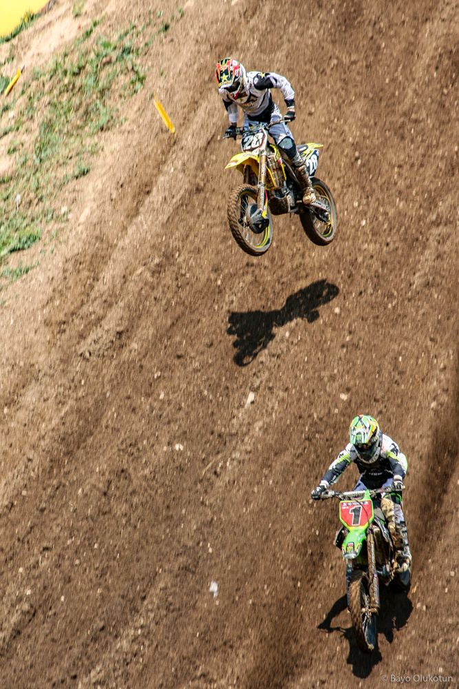 Dungey had plenty of adversaries throughout his career, but his closest rival in terms of speed and sheer number of times the