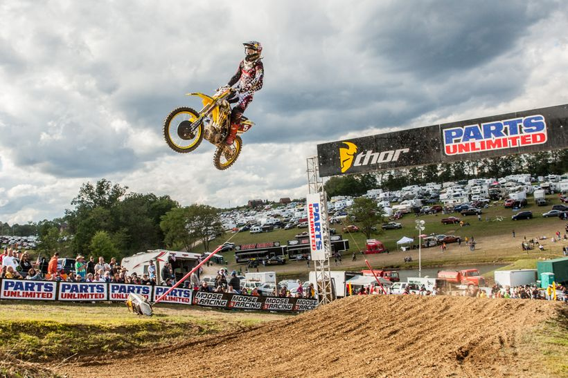 In 2010, Dungey made the jump up to the premiere 450 class where he shocked the MX world by capturing both the coveted AMA Su