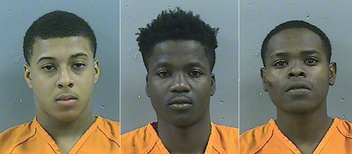 SuspectsDwan Diondro Wakefield, 17,DAllen Tyreek Washington, 17, and Bryon McBride, 19.