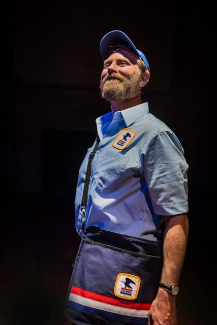 John Patrick Moore is a mail carrier in the San Bernardino Valley in <strong><em>Edward King</em></strong>, a new play by Gar