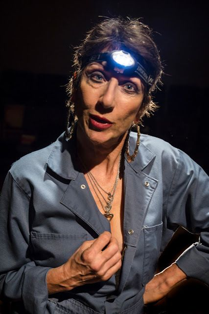 Jan Zvaifler appears as Edwina the Exterminator in <strong><em>Edward King</em></strong>, a new play by Gary Graves