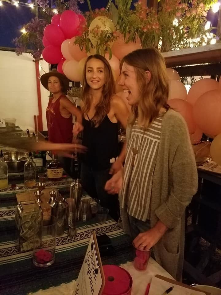 Margarita bar hosted by wizards in training