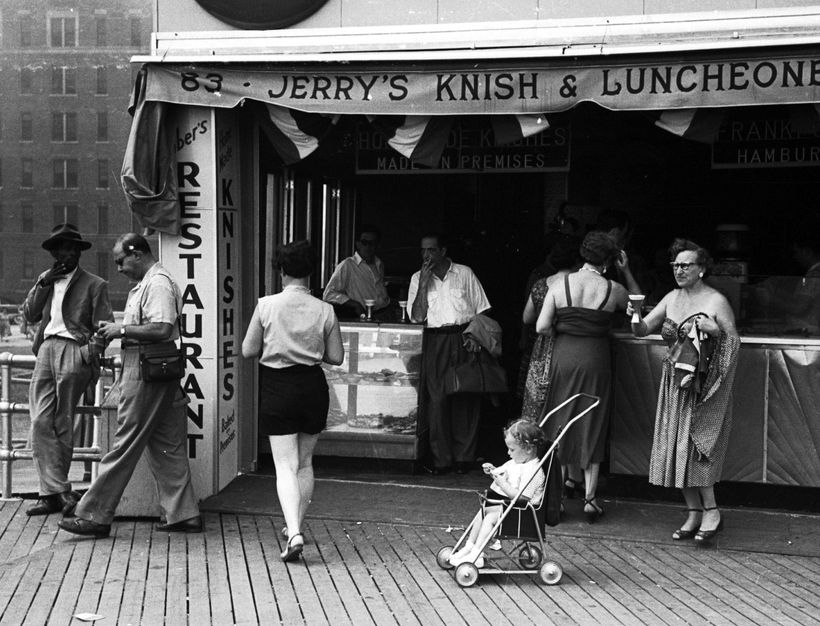 Photo by Dr. Kenneth S. Tydings Long Beach, NY Boardwalk 1950s