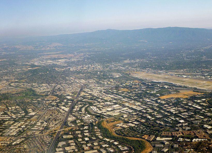 Silicon Valley landscape