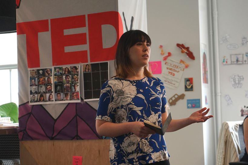 Katie Salisbury / TED Resident