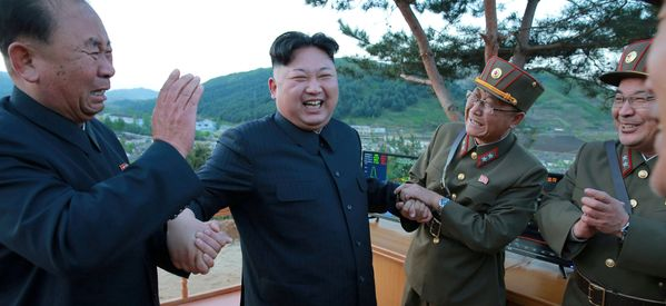 North Korea Fires Ballistic Missile Into Waters Off East Coast