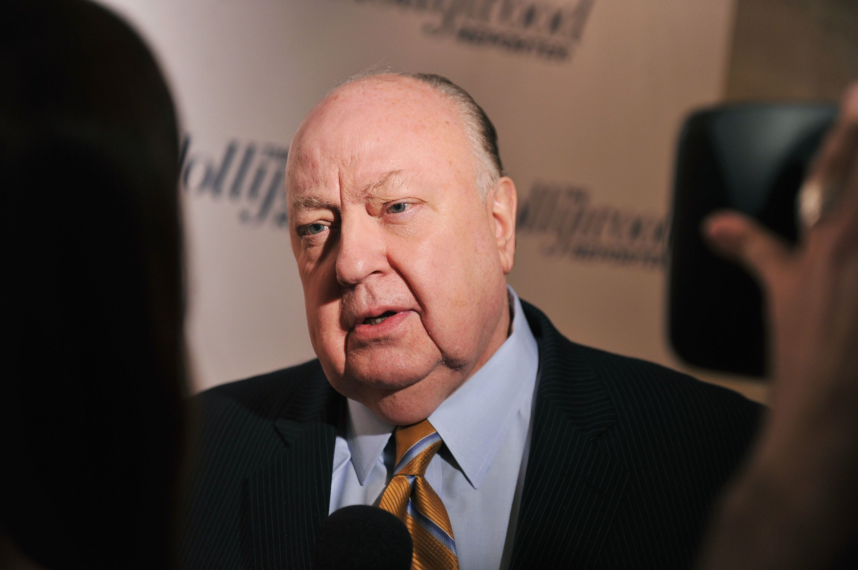 Roger Ailes at an event in