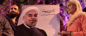 HASSAN ROUHANI IRAN PRESIDENT PRESIDENTIAL ELECTION ELECTION CELEBRATION
