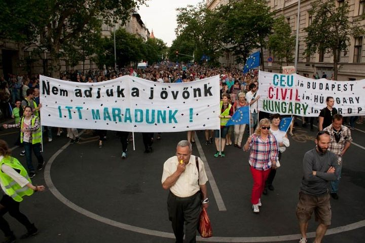 The attack on the CEU has hit a nerve in Hungary.