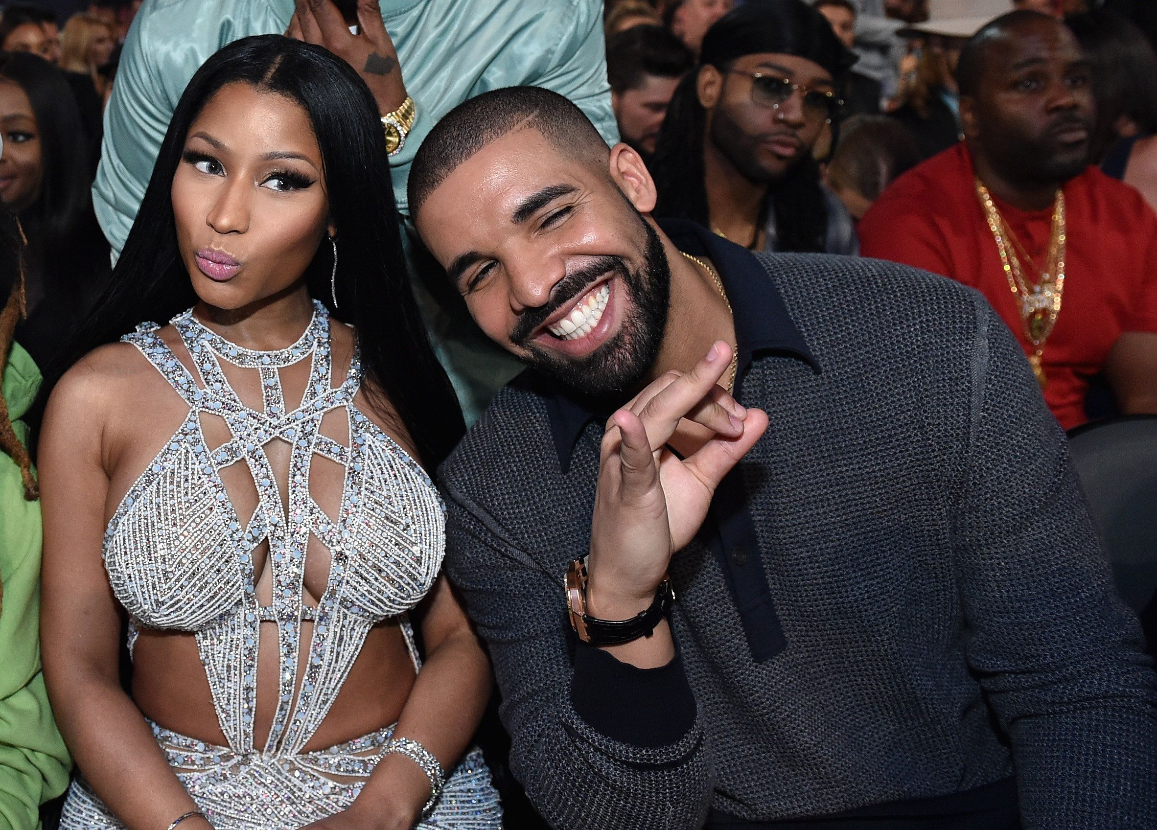 Nicki Minaj Was Not Having Drake's Praise for Vanessa Hudgens atBMAs
