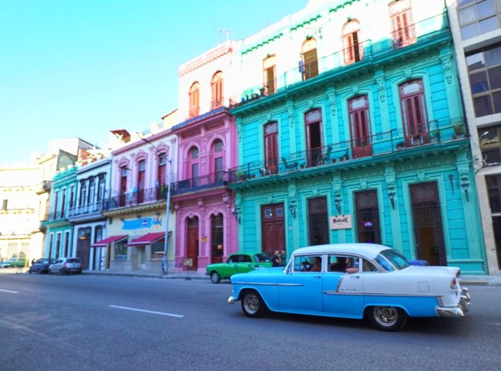 Colorful facades entice tourists to wander and explore the stunning streets