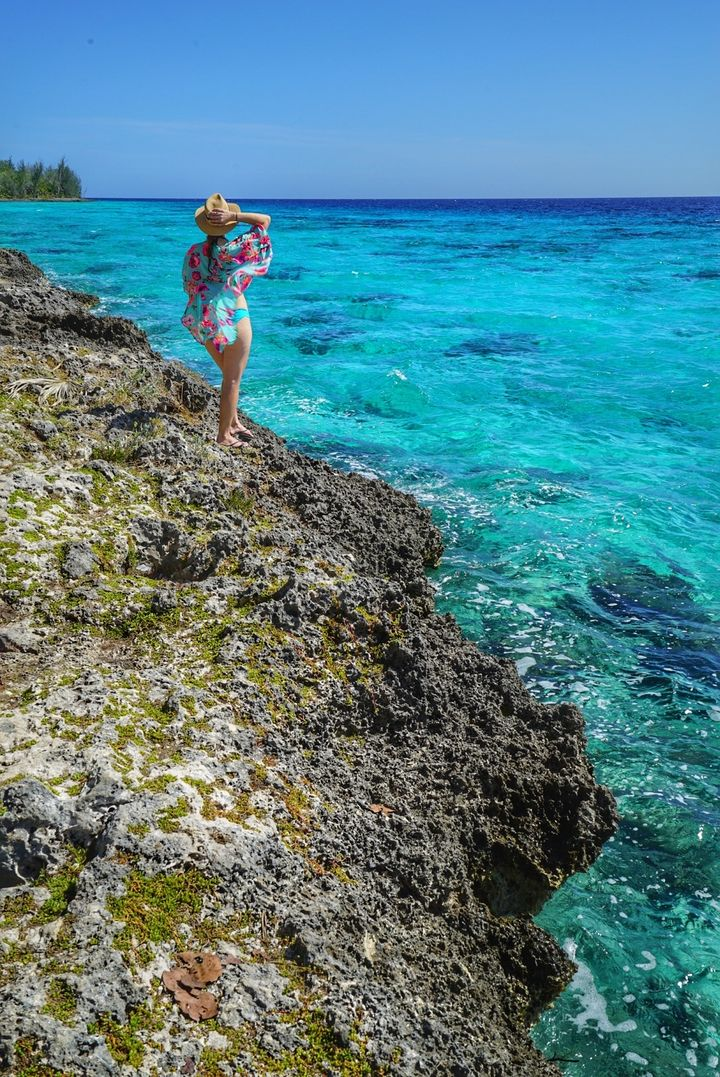 <p>Crystal clear waters just outside the Bay of Pigs</p>