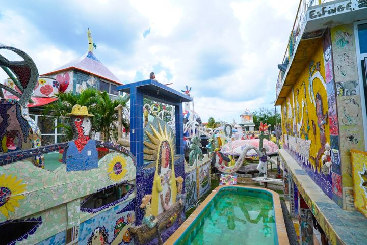 <p>Fusterlandia on the outskirts of Havana is a moasic marvel</p>