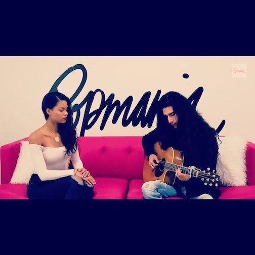 <strong><em>Isabella sings live on Popmania TV</em></strong>
