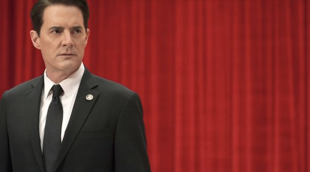 Agent Dale Cooper (Kyle MacLachlan) is back on screen, and back in the Red