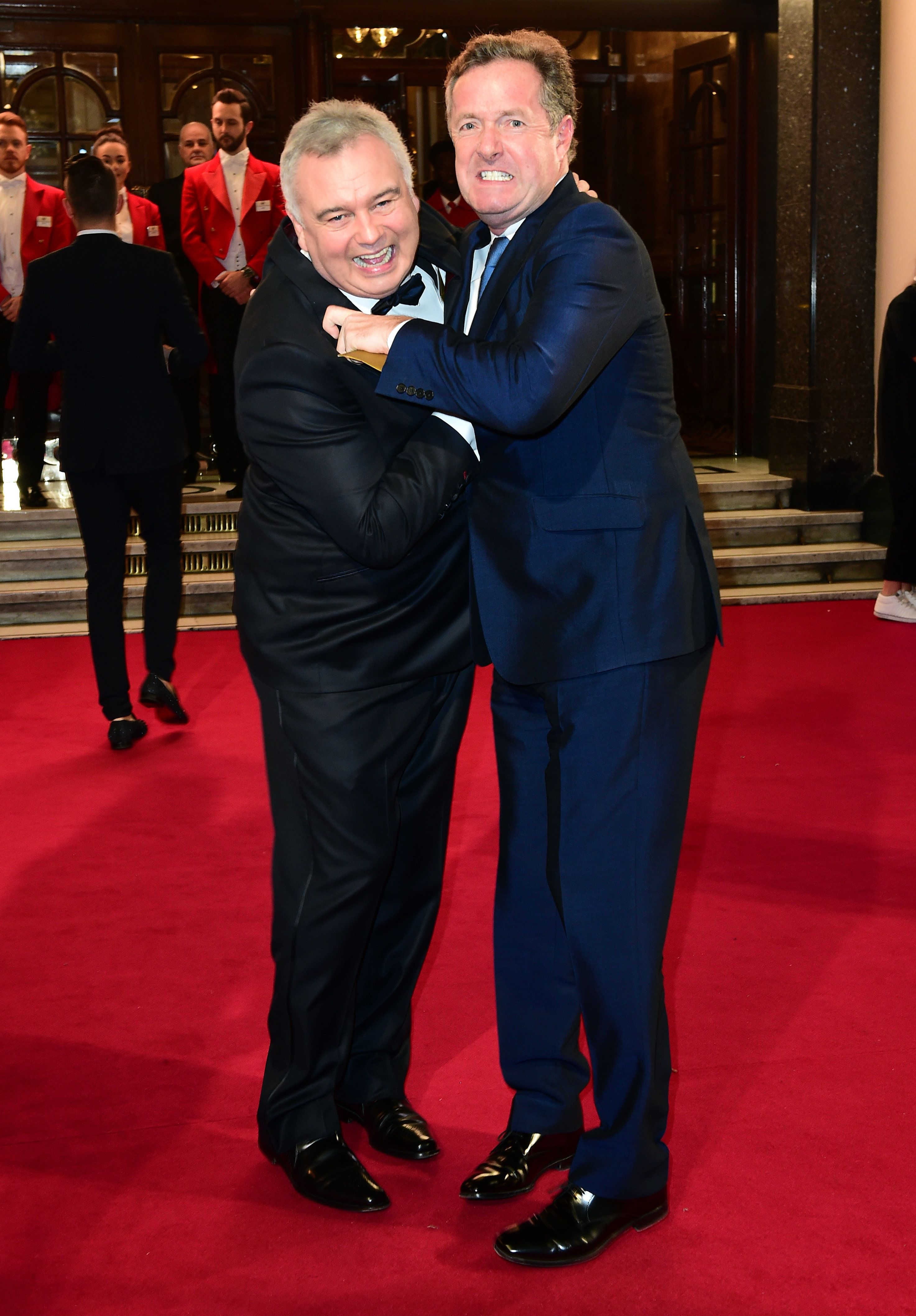 Eamonn Holmes and Piers