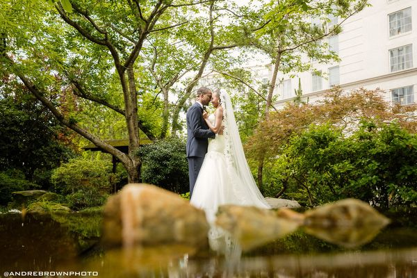 """""""Oria and Kayode are so deep in love, they got married twice! The couple tied the knot in a traditional Nigerian ceremony and"""