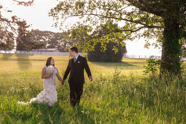 """""""Mark and Amanda were married on May 20 in Seymour, Tennessee in the foothills of the Smoky Mountains."""" --<i>Suzanne Mc"""