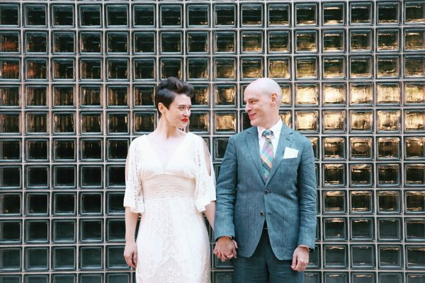 """""""Amanda andMatthew married in Knoxville, Tennessee at Downtown 211."""" --<i>Leah Moyers</i>"""