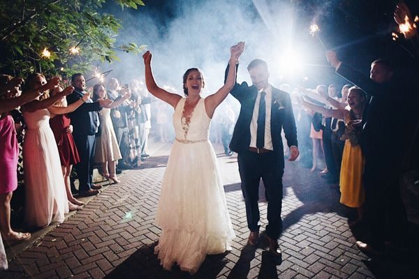 """""""Laura and Henry married on May 12 at the Trolley Barn in Atlanta, Georgia."""" --<i>Krisandra Evans</i>"""