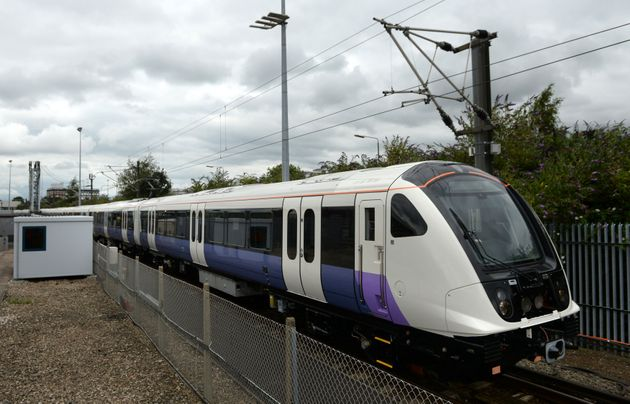 A new train developed for the Crossrail