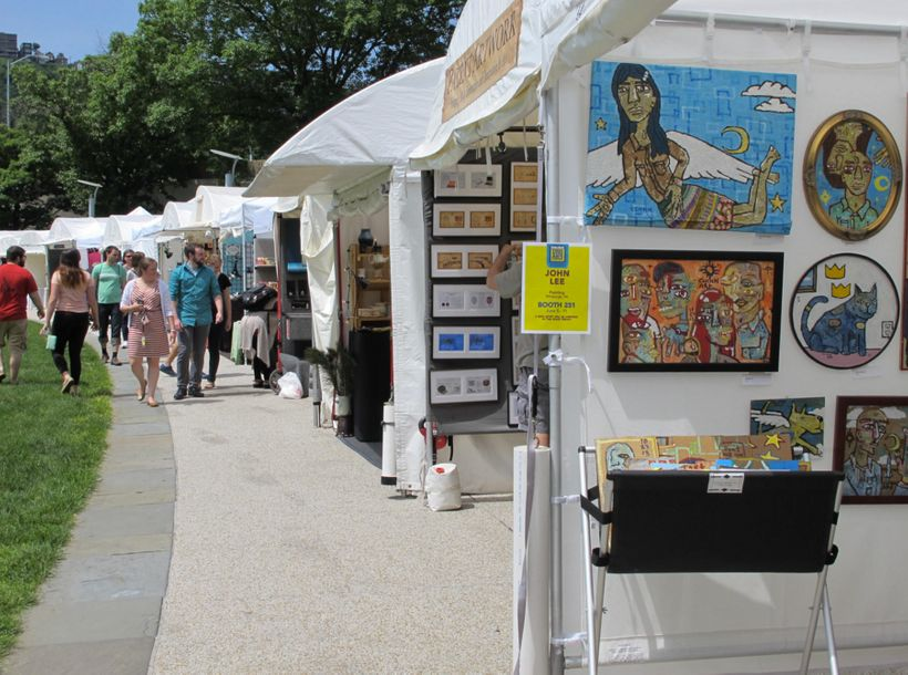 The Three Rivers Arts Fest takes place June 2-11, 2017. Image via WESA.