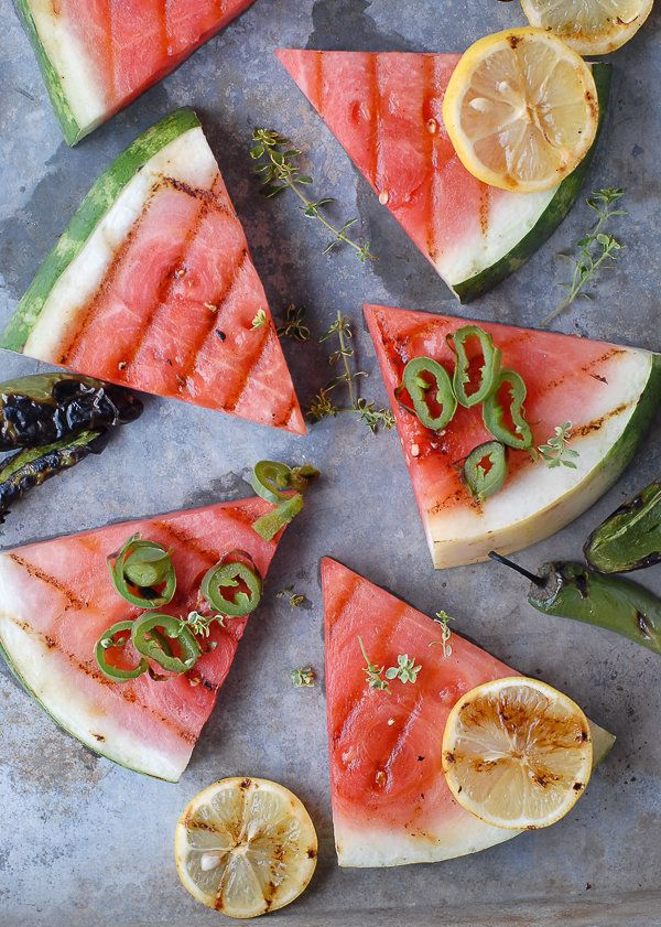 "<strong>Get the <a href=""http://boulderlocavore.com/grilled-watermelon-with-smoked-salt-and-jalapeno-rings/"" target=""_blank"">"