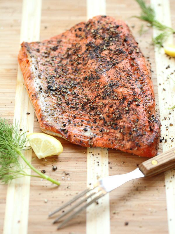 "<strong>Get the <a href=""http://www.foodiecrush.com/2013/07/grilled-salmon-fillet-with-cucumber-dill-sauce/"" target=""_blank"">"