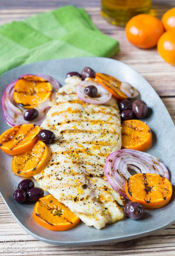 "<strong>Get the <a href=""http://www.aspicyperspective.com/grilled-grouper-with-orange-and-olives/"" target=""_blank"">Grilled Gr"