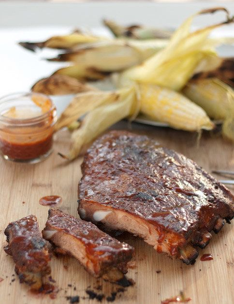 "<strong>Get the <a href=""http://www.foodiecrush.com/2012/05/barbeque-pork-spare-ribs/"" target=""_blank"">Barbeque Pork Ribs wit"