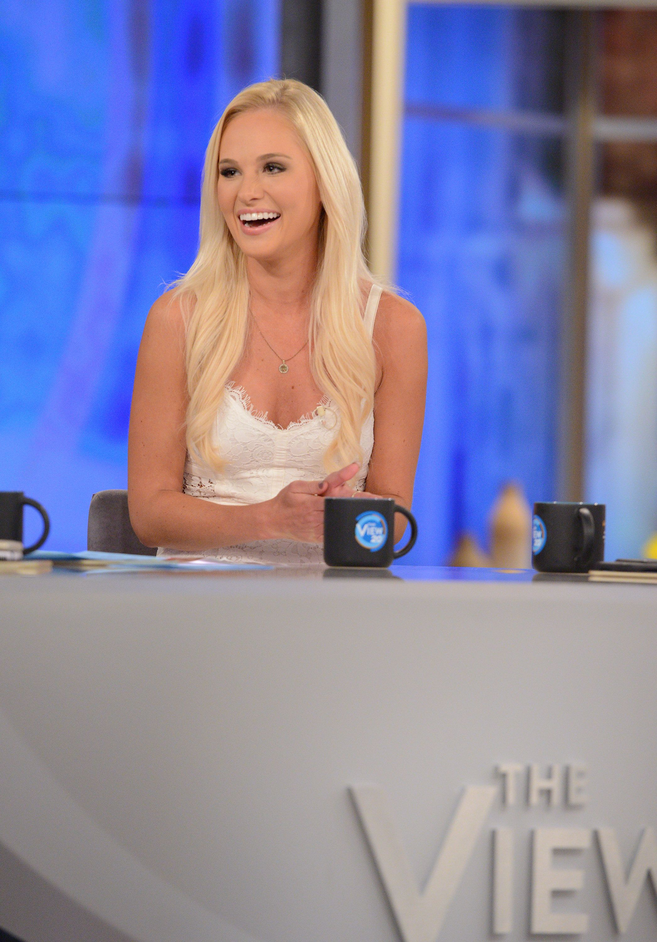 THE VIEW - Today's guest include actor Jussie Smollett and Conservative Commentator Tomi Lahren on ABC's 'The View.'   'The View' airs Monday-Friday (11:00 am-12:00 pm, ET) on the ABC Television Network.     (Photo by Lorenzo Bevilaqua/ABC via Getty Images)  TOMI LAHREN
