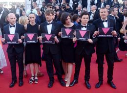 Cannes Film Festival Jury Stage Powerful LGBT Protest Condemning Chechnya Attacks On Gay Men