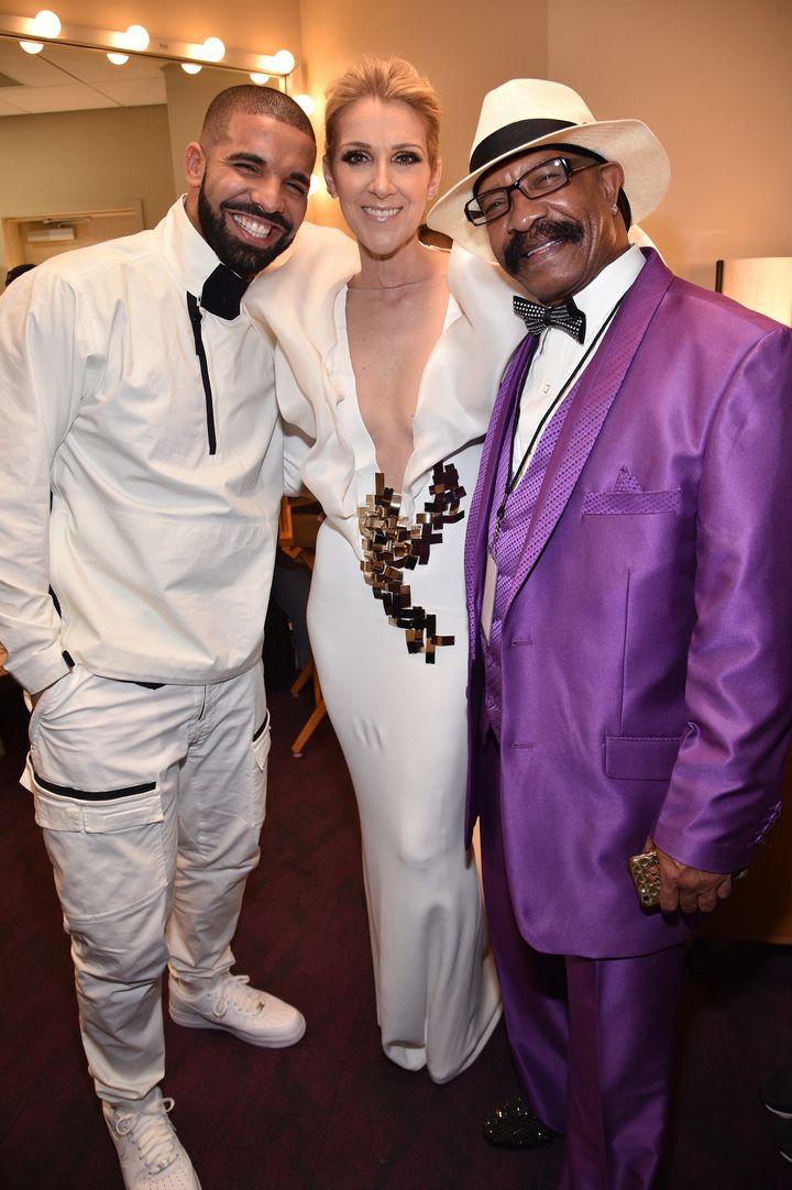Drake, Dion and Dennis Graham.