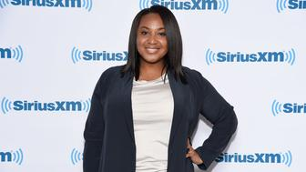 NEW YORK, NY - MAY 01:  Director Stella Meghie visits SiriusXM Studios on May 1, 2017 in New York City.  (Photo by Matthew Eisman/Getty Images)
