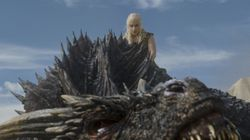 Here's Your First Look At The Dragons In 'Game Of Thrones' Season