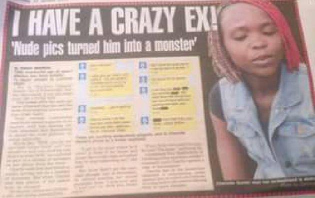 I have a crazy ex: Charlotte Gumbi's