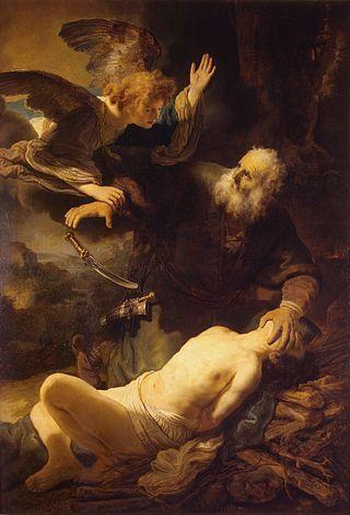 Rembrandt. Abraham's Sacrifice.