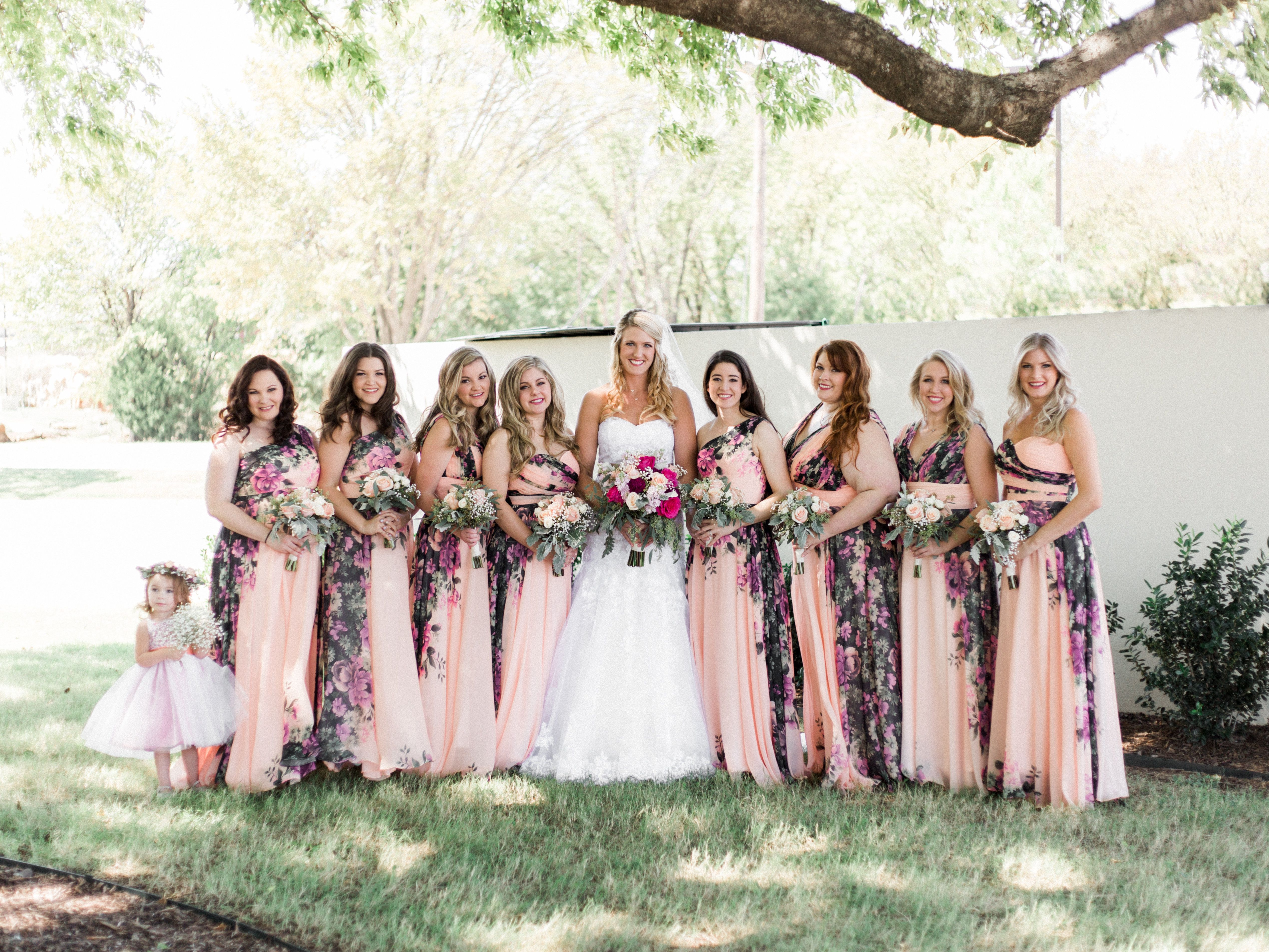 Bridesmaid Dresses Flowers