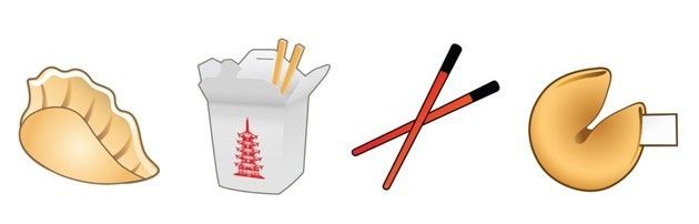 In Lu's initial design, the chopsticks were crossed.