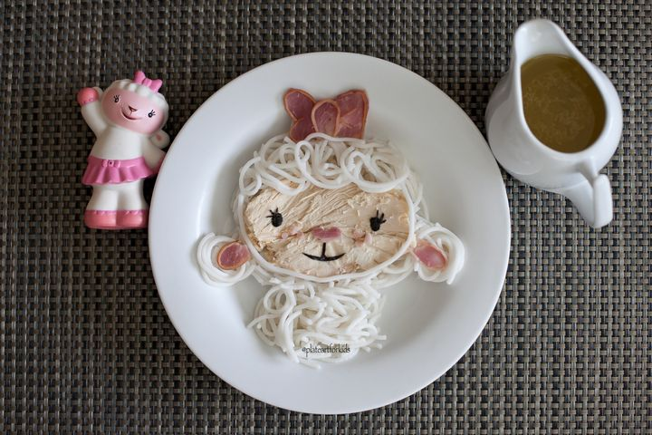 "Kim Anh Chang began making food art for her 2-year-old to help with her ""finicky appetite."""