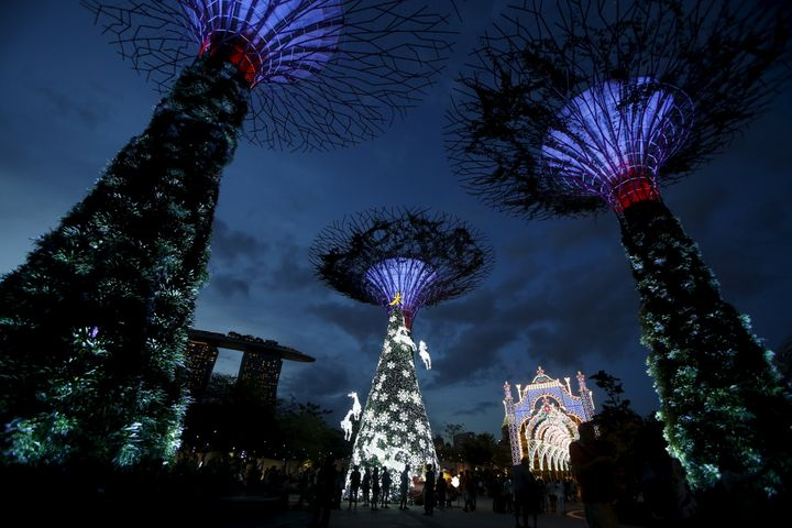 Singapore feels the opposing pulls of China and the West acutely.