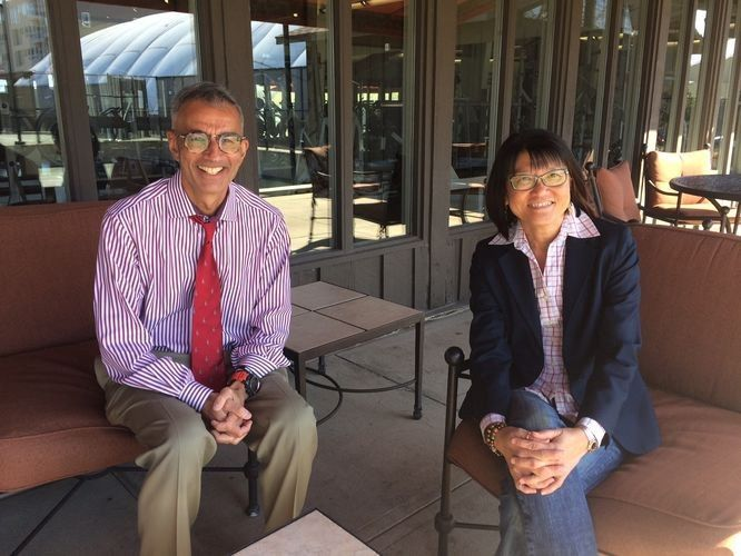 Professor Raj Bhala and Kara Tan Bhala