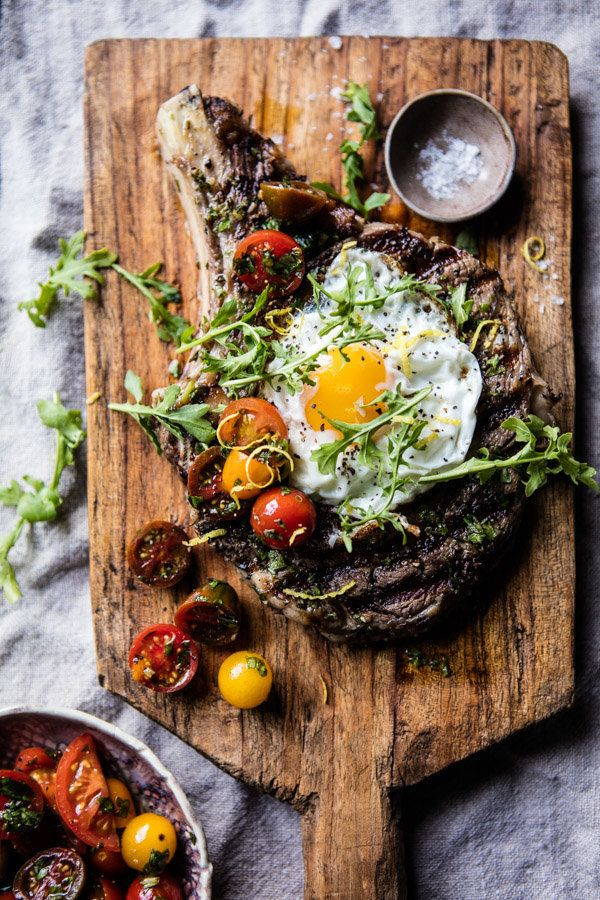 """<strong>Get the <a href=""""https://www.halfbakedharvest.com/tuscan-steak-with-marinated-cherry-tomatoes/"""" target=""""_blank"""">Tusca"""