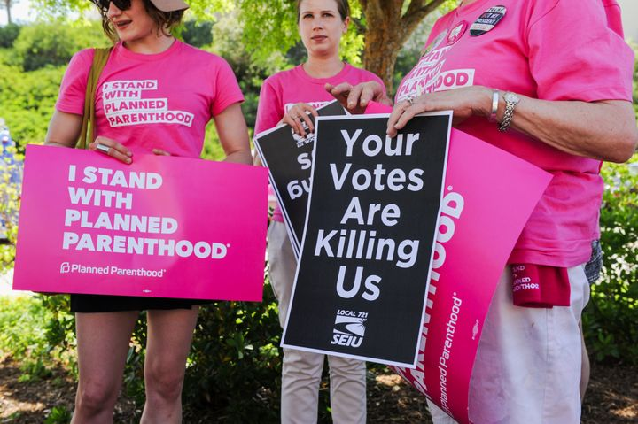 The White House budget plan's exclusion of Planned Parenthood would be the first time a specific health care provider was loc