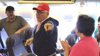 Unruly passenger in Make America Great Again hat drives the rest of the plane nuts